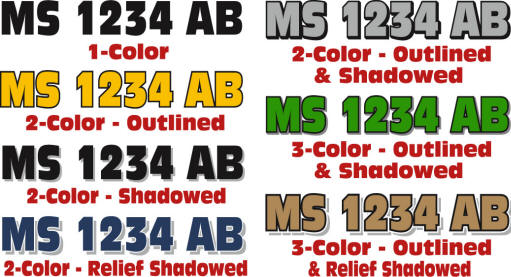 Custom Boat Registration Numbers From The Vinyl Approach - Custom boat numbers